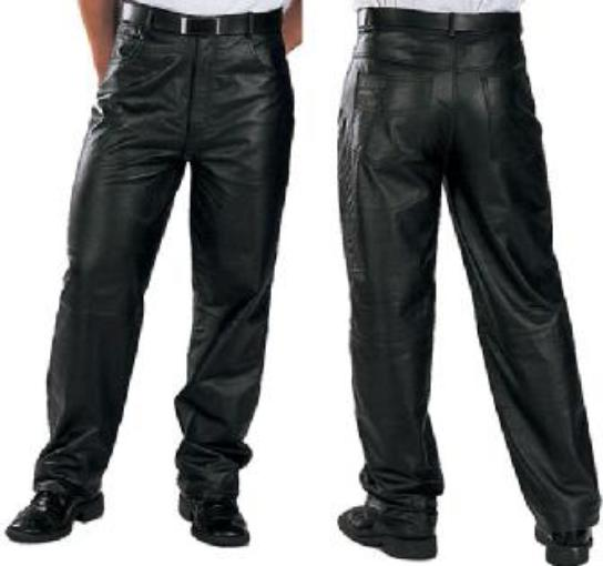 eca32916780a Мужские кожаные штаны, брюки из кожи, мужские кожаные брюки ...